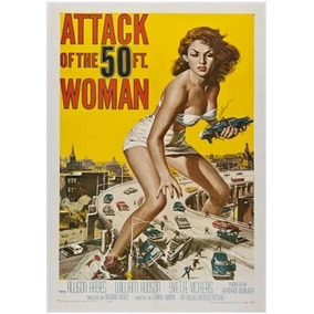 Poster Do Filme The Attack Of The 50ft Woman 1958