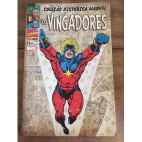 Coleção Histórica Marvel - Os Vingadores - Vol. 01 E 02