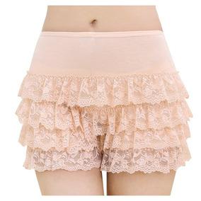Rarity-us Mujeres Encaje En Capas Pantalones Cortos Corto