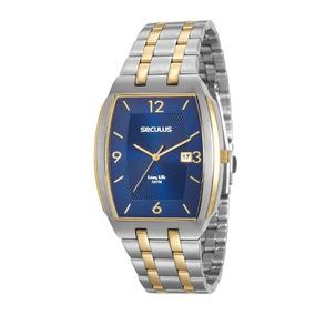 Relógio Masculino Seculus 20587gpsvba1 Promo Verão