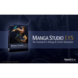 Manga Studio Ex 5 Ingles-windows-full