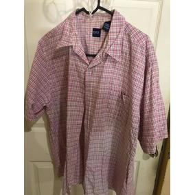 2 Camisas Manga Corta Talla Grande Usadas Calidad 8