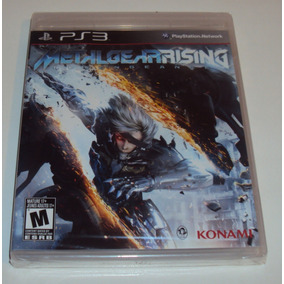 Metal Gear Rising Revengeance Lacrado Para Playstation 3