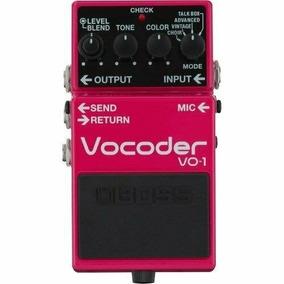 Pedal Para Guitarra Boss Vo-1 Vocoder - Leia O Anuncio