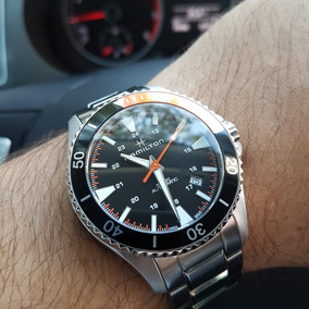 Relógio Hamilton Khaki Scuba Diver H82305131 Impecável