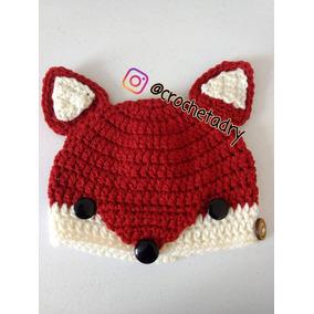 Gorro Zorro Crochet Bebés