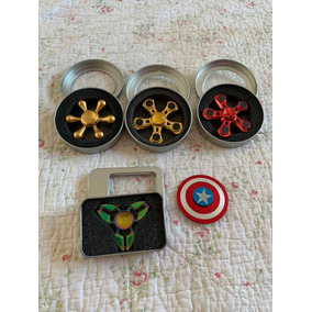 Lote 5 Spinners Metalicos