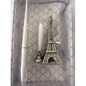 Pluma Y Base Torre Eiffel