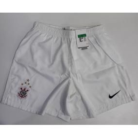 Calção Corinthians Nike Original Infantil Temp.2009 Tam. Gg 9a21711a86c11