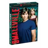 Dvd Série Smallville 4a Temporada 6 Discos Com Luva