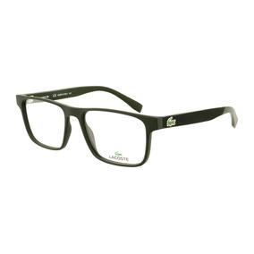 4f68516a4 Oculos De Descanso Masculino Lacoste - Óculos Verde no Mercado Livre ...