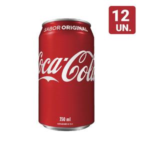 Combo Coca-cola Original 350ml Com 12 Unidades