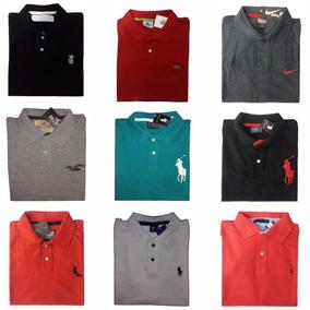 49989cab43 Kit 3 Camisas Polo Masculina Atacado Revenda Camisetas Polo ...