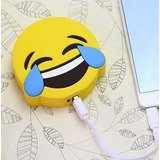 Power Bank Con Carita De Risa Emoji