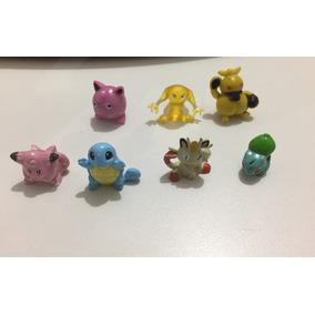 Lote De 4 Pokemons Caçulinhas + 3 Brinde