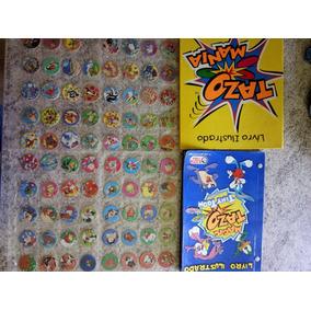 Coleção Tazo Tiny Toons E Fichário Tazo Mania