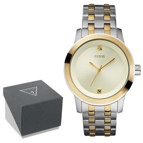 Reloj Guess Hombre U12604g2 Acero, Diamante Gold-tone Sumerg