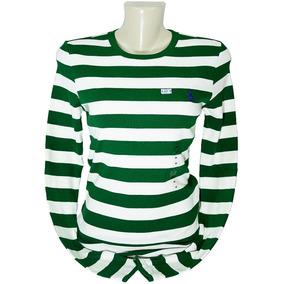 42d05908ea Camiseta Feminina Polo Ralph Lauren Manga Comprida 0riginal