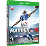 Madden 16 Nfl Xbox One Videojuego Nuevo Sellado