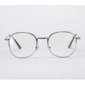 Óculos Redondo Armação Para Grau Cor Prateada - Óculos no Mercado ... 389833cdaf