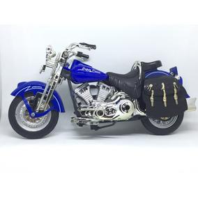 Miniatura Moto Harley-davidson 1998 Heritage Spring 1:12