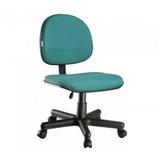 Cadeira Executiva Modelo Soft Sem Braços,base De Metal
