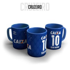 Caneca Personalizada Cruzeiro Louca - Cozinha no Mercado Livre Brasil 19bfef7f041cc