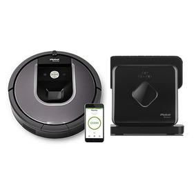 Irobot Roomba 960 + Braava 380 - Combo Oferta!