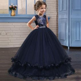 Vestido novia azul marino