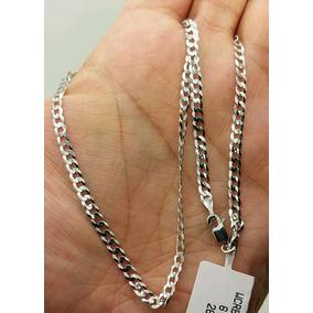 Corrente Cordão Prata 925 Italiana Maciça Escama 4mm 70 Cm