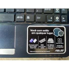 Netbook Asus 320 Gb Para Retirada De Peças
