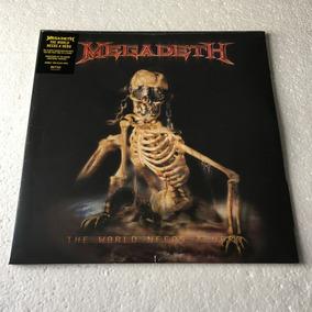 Megadeth Lp The World Needs A Hero Vinil Black 2019