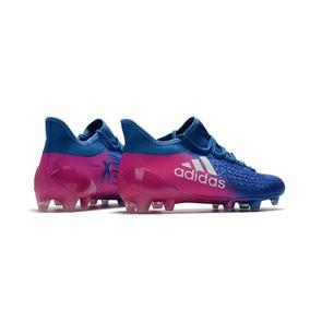 Chuteira Adidas Campo Azul E Rosa - Chuteiras no Mercado Livre Brasil 92129b04a6a17