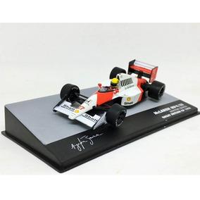 Miniatura F1 Mclaren Senna 1990 1:43 Ixo Acrílico C/danos