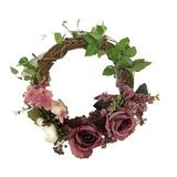 Adeeing 12 Pulgadas Floral Artificial Rosa Verde Hojas Flor