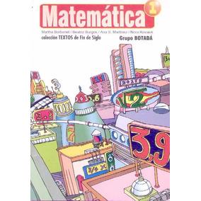 Matematica 1. Grupo Botada
