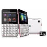 Celular Motorola Ex119 2gb Entrada Para Antena Rural Rosa