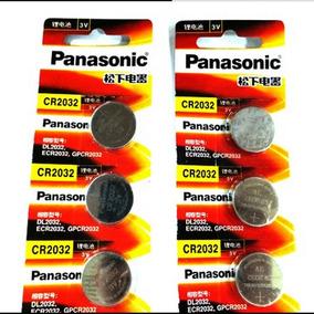 Bateria Panasonic Cr2032 3v Original 5 Unid- Infinity Toners