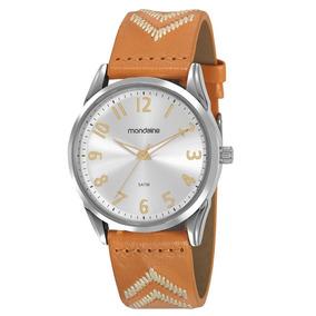 Relógio Feminino Mondaine Pulseira Bordada - 99348l0mvnh1