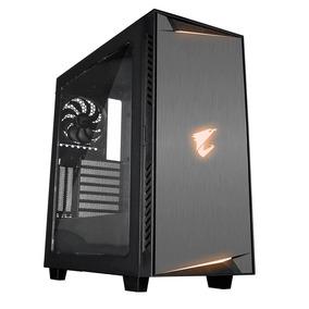 Gabinete Gamer Aorus Ac300w Lite Rgb Fusion Atx Usb 3.0