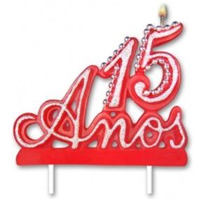 Vela De 15 Anos Algarismo Romano Decoração De Festa Em Paraná No