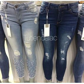 Pantalones Jeans Importados De Dama 2018 7fa6f154a2df