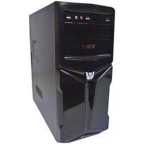 Pc Cpu Computador Intel Quad Core Hd 320gb 4gb 1333mhz Wifi