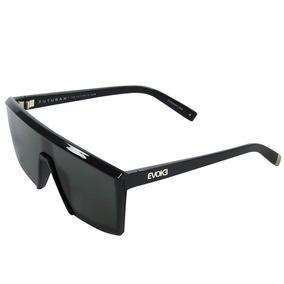 ba06790910000 Oculos Solar Evoke Bomber Black Shine Silver Gray Gradient - Óculos ...