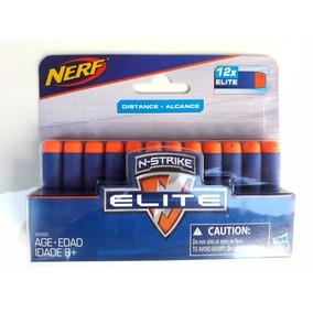 Refil Dardos Nerf Elite Distance Alcance 12un - Hasbro