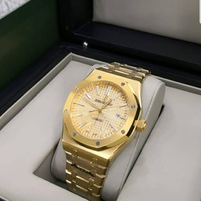 Relógio Masculino Dourado Analógico Eta 1.1.15 - Fretegrátis