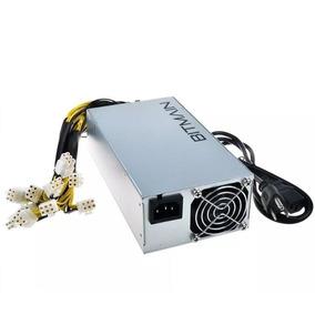 Fonte Bitmain Antminer Apw3 12v 1600w Psu Bitcoin S9 D3 L3