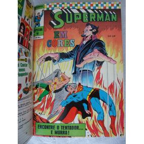 Coleção Gibis Superman Em Cores Especial Ebal 1970-1971-1972