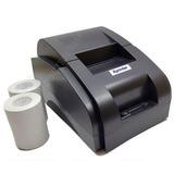 Impresora Termica 58mm Usb Punto D Venta Con 2 Rollos