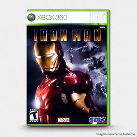 Iron Man - Jogo Original Para Xbox 360 Novo